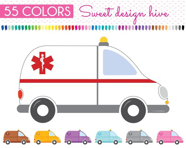 Teachers medical commercial use. Ambulance clipart clip art