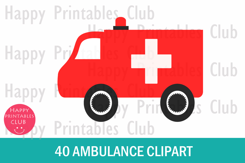 set png images. Ambulance clipart cute