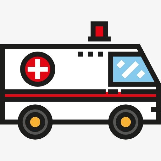 Cartoon png image and. Ambulance clipart cute
