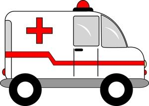 Clip art images stock. Ambulance clipart cute