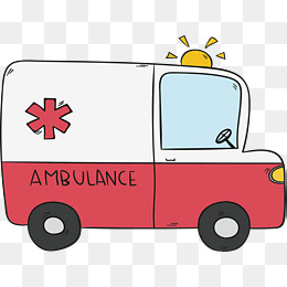 Png images vectors and. Ambulance clipart cute