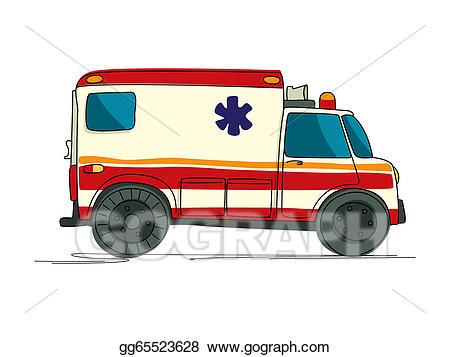 Ambulance clipart draw. Drawing cartoon gg
