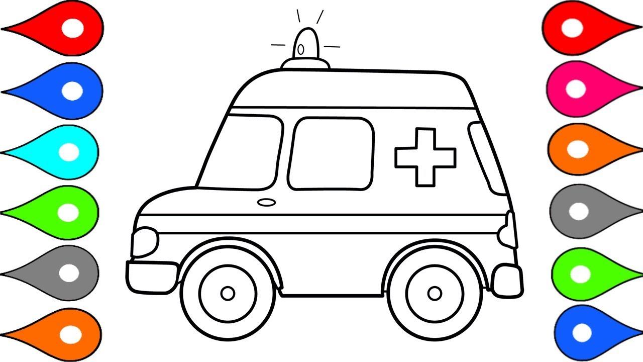 ambulance clipart draw