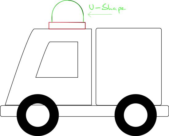How to cartoon ambulances. Ambulance clipart draw