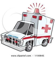 Ambulance emergency ambulance