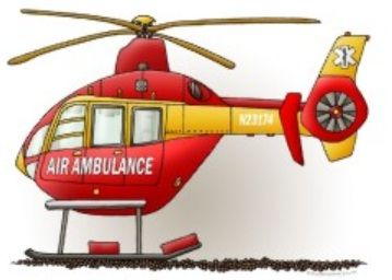 Ambulance clipart helicopter. Air fireman party pinterest