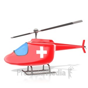 Ambulance clipart helicopter. Business rescue presentation great