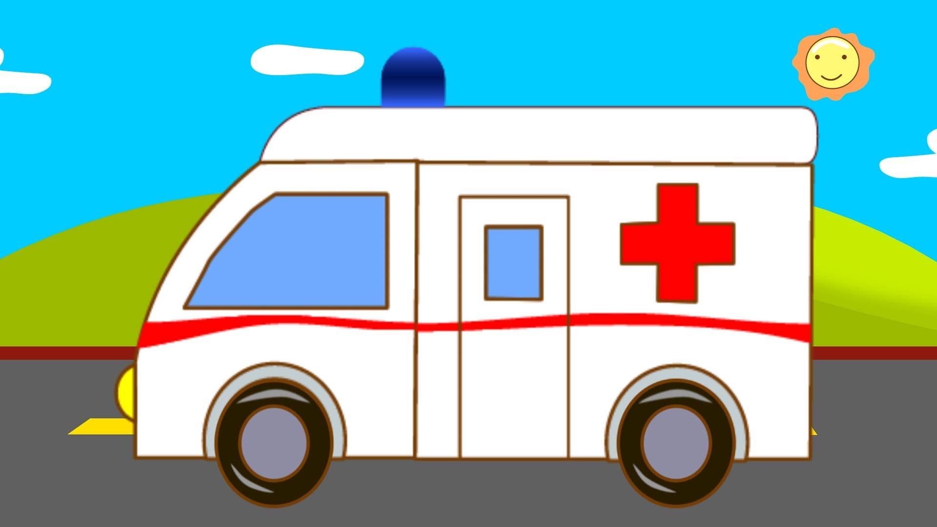 Ambulance clipart kid. Kids channel youtube