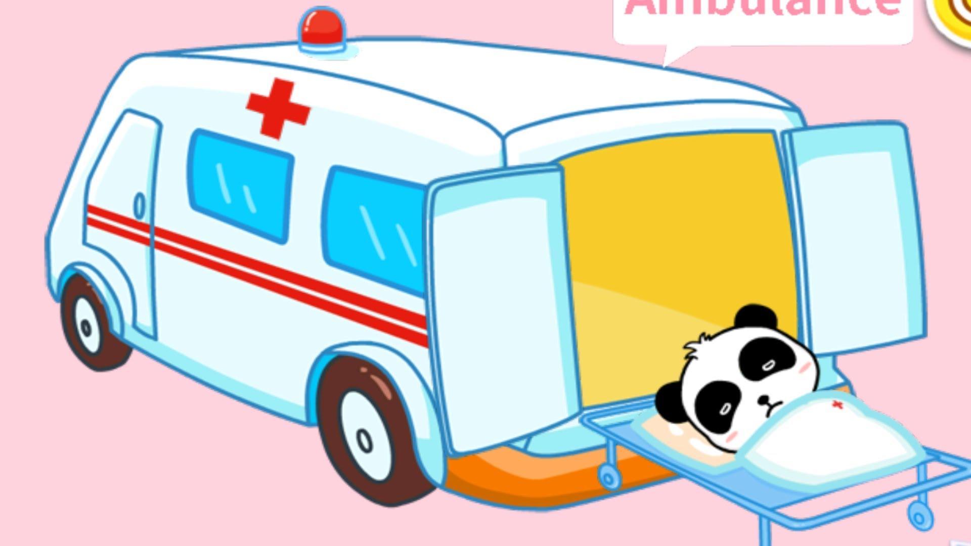 Ambulance clipart kid. Drawing at getdrawings com