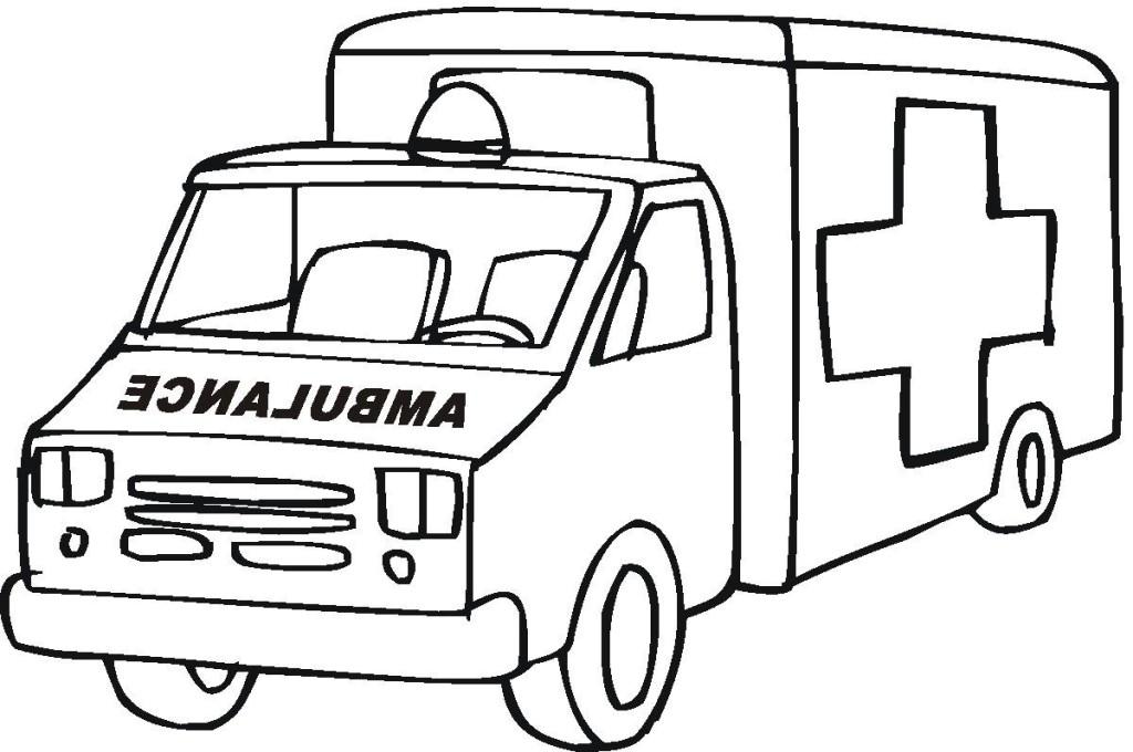 Ambulance clipart line art. Free pictures download clip