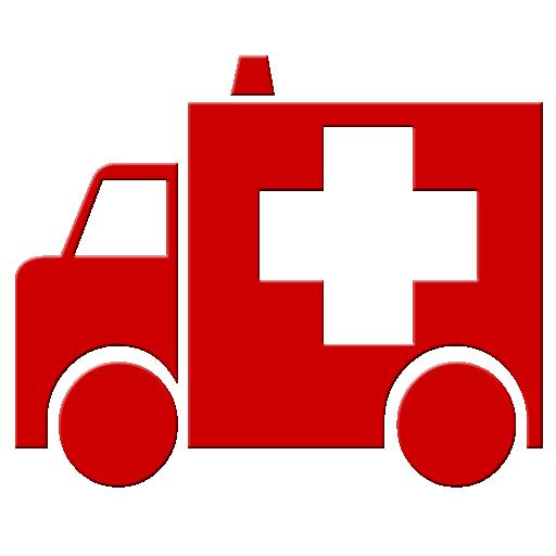 Ambulance clipart logo. Red symbol image ipharmd