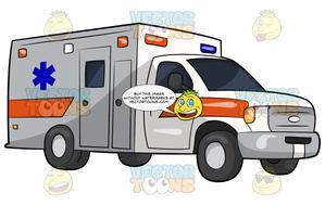 Ambulance clipart modern. A