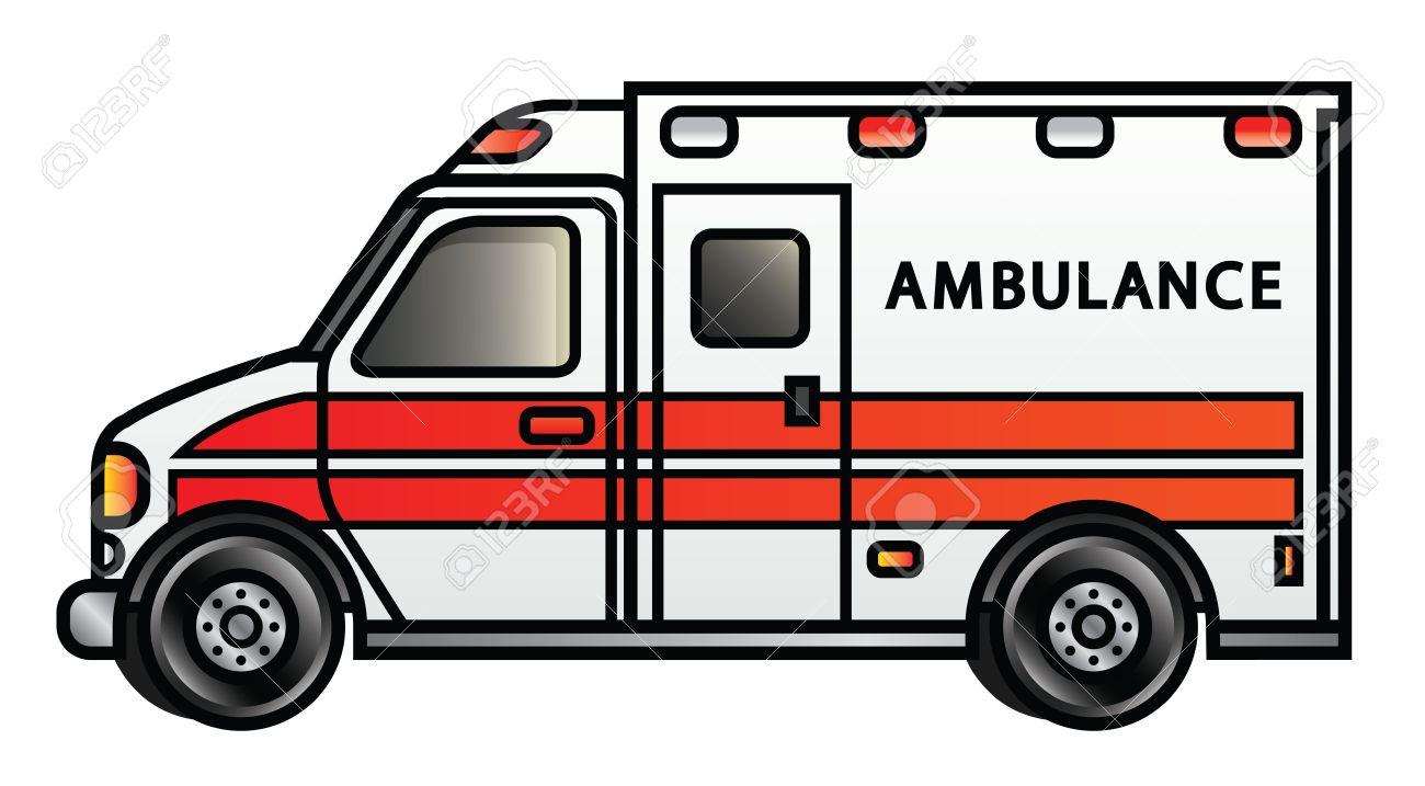 clipartlook. Ambulance clipart modern