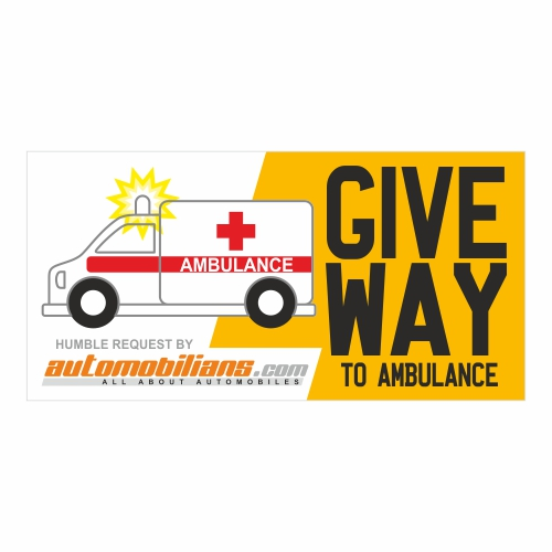 Give way to for. Ambulance clipart motorcycle