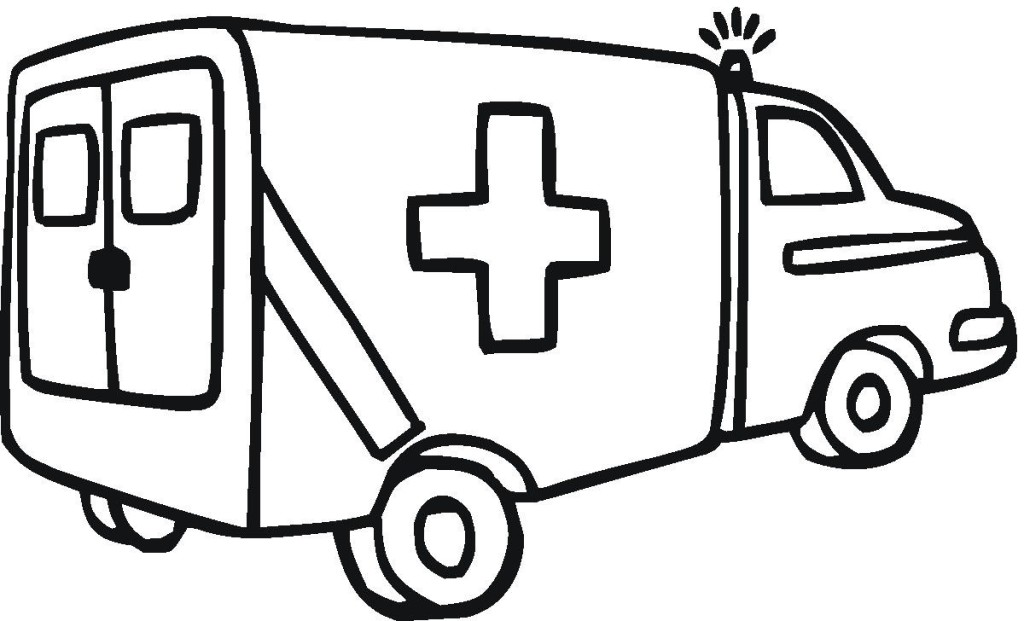 Drawing at getdrawings com. Ambulance clipart outline