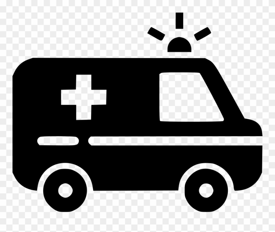 Ambulance clipart outline. Car medicine emergency healthcare