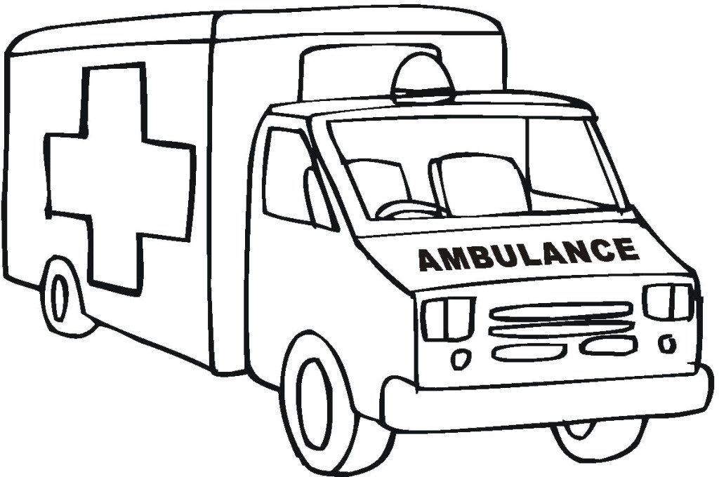 cars images free. Ambulance clipart outline