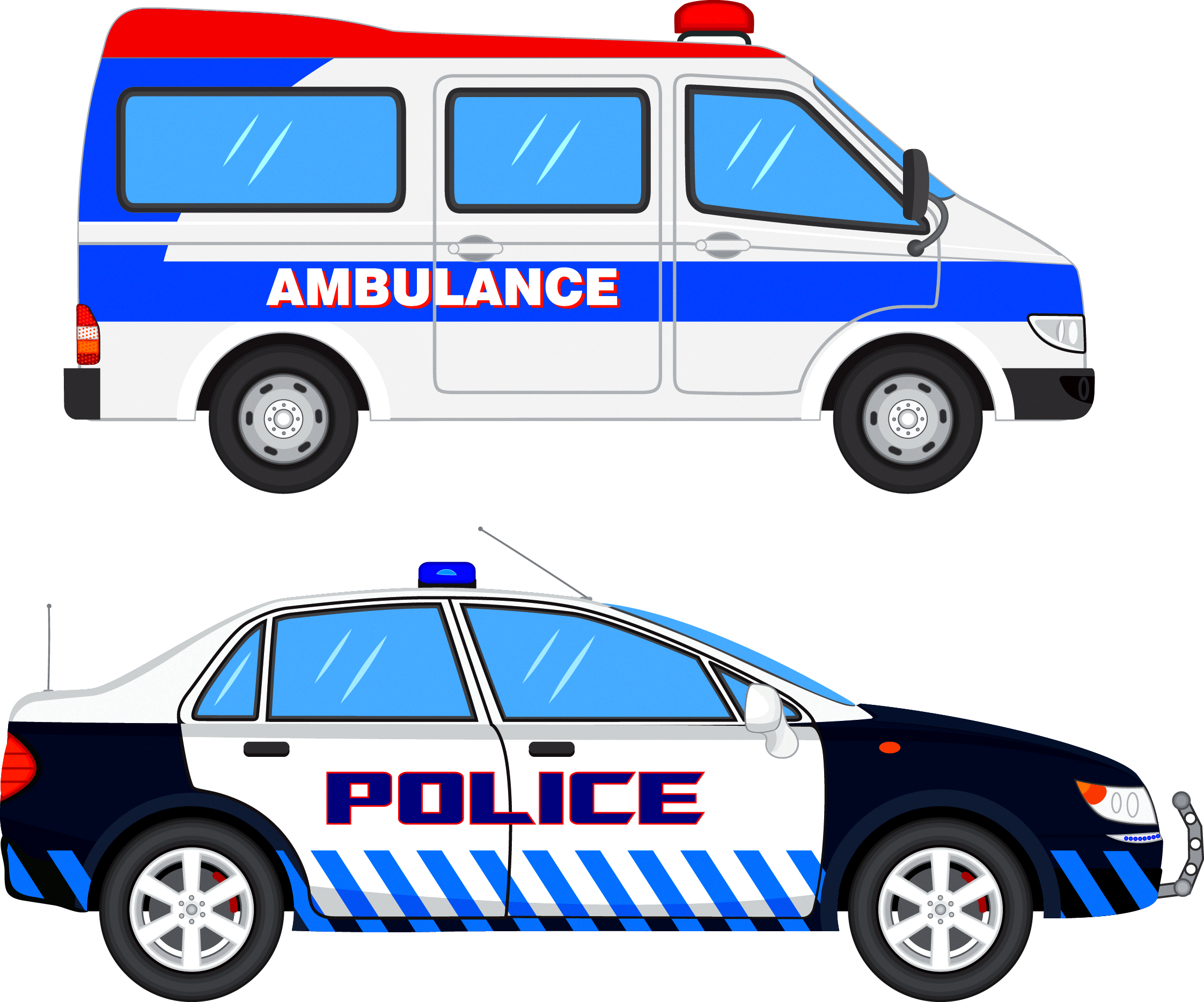 Police clip art ambulance. Clipart coffee car