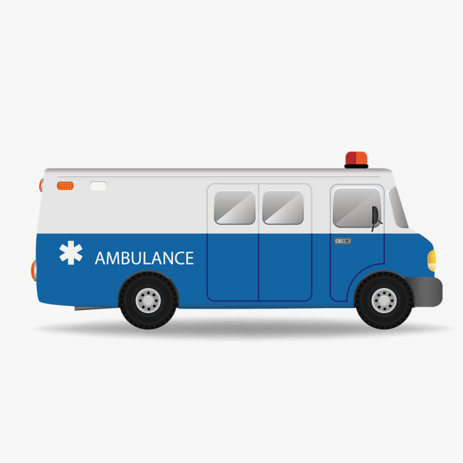 Ambulance clipart side view. Car vector png and