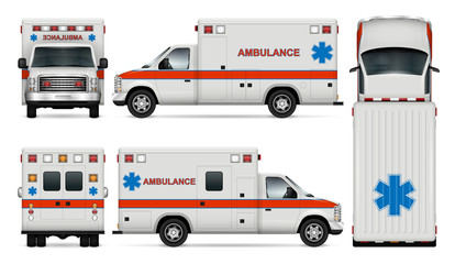 Search photos white car. Ambulance clipart side view