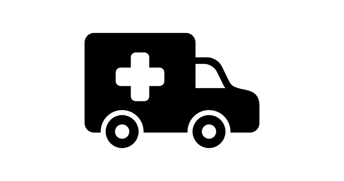 Ambulance clipart side view. Free transport icons