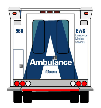 Ambulance clipart side view. City of toronto s