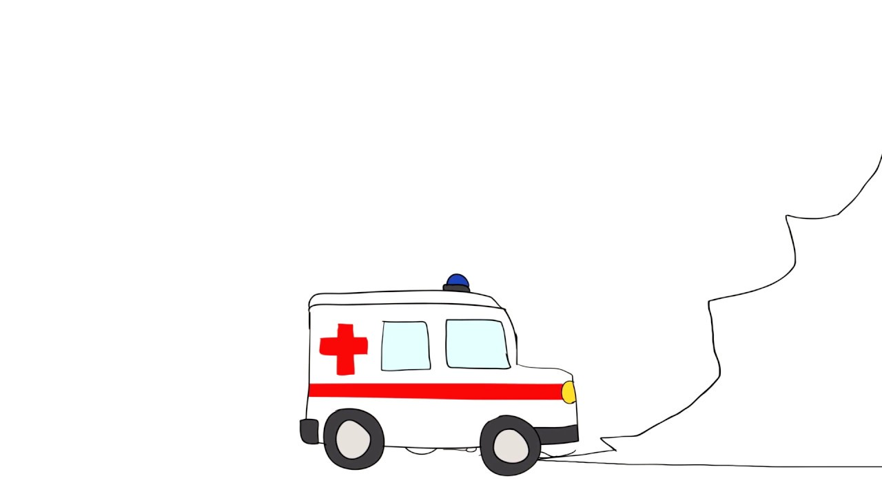 Ambulance clipart stick figure. The mountain a animation