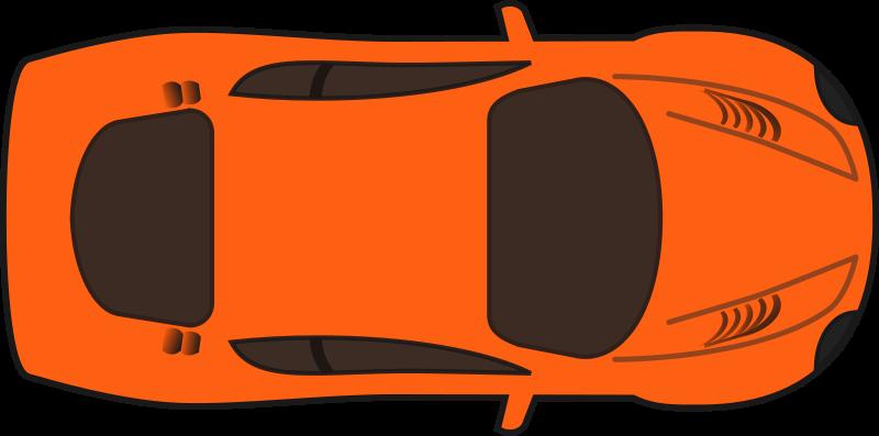 Minivan clipart aerial car. Image of top view