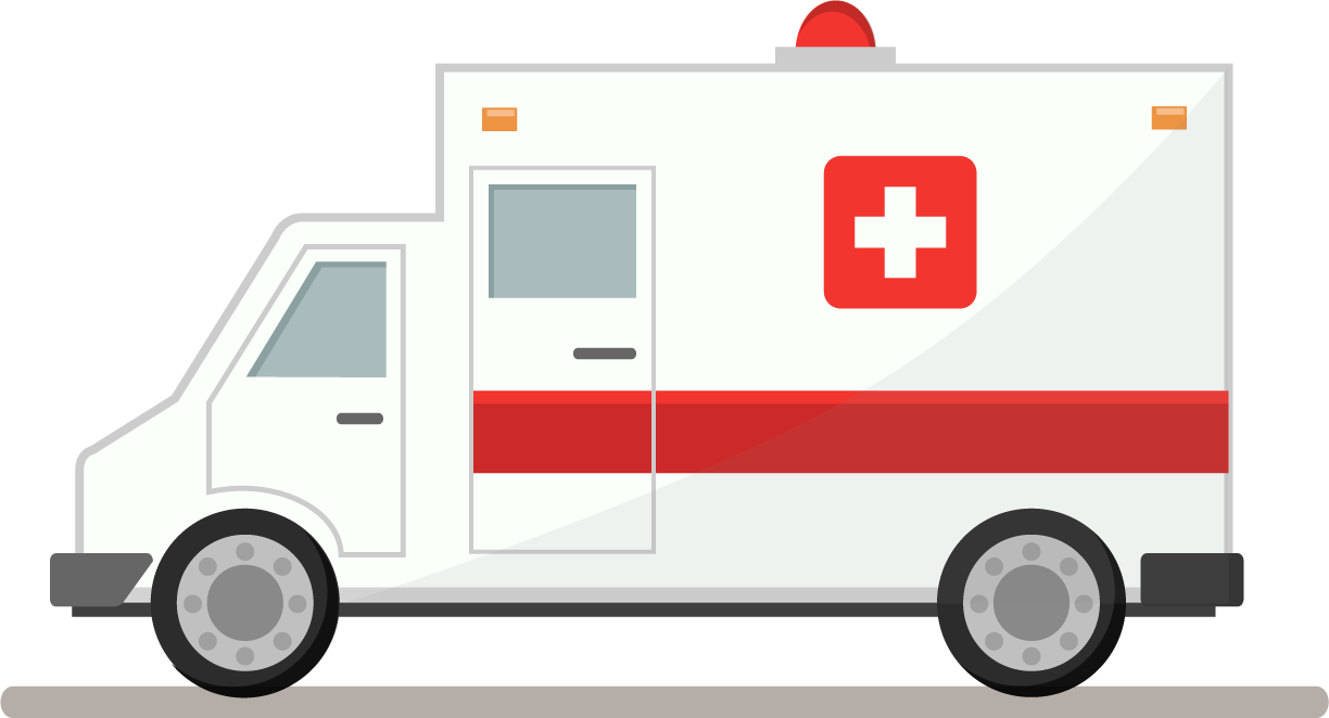 Ambulance png . Professional clipart emergency service