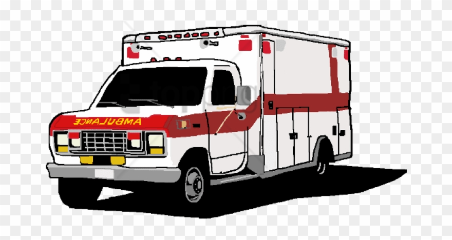 Ambulance clipart transparent background. Free png image with