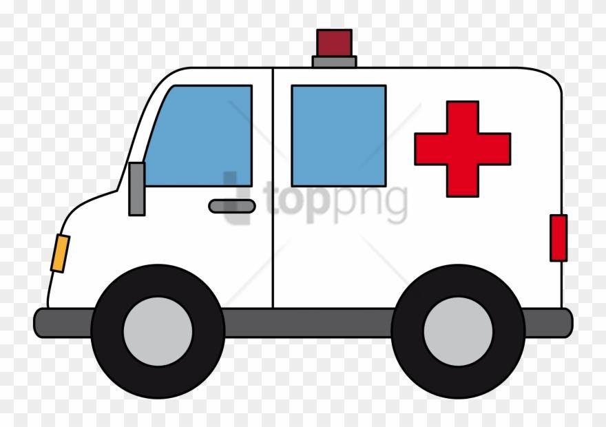 Download png images . Ambulance clipart transparent background