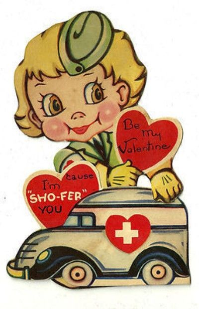 Ambulance clipart vintage. Wwii era military red
