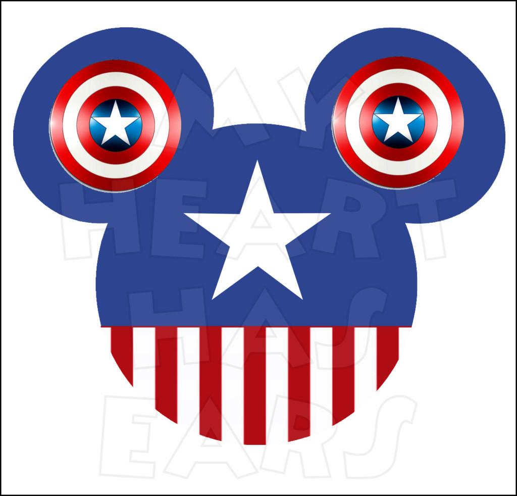 Captain panda free images. America clipart