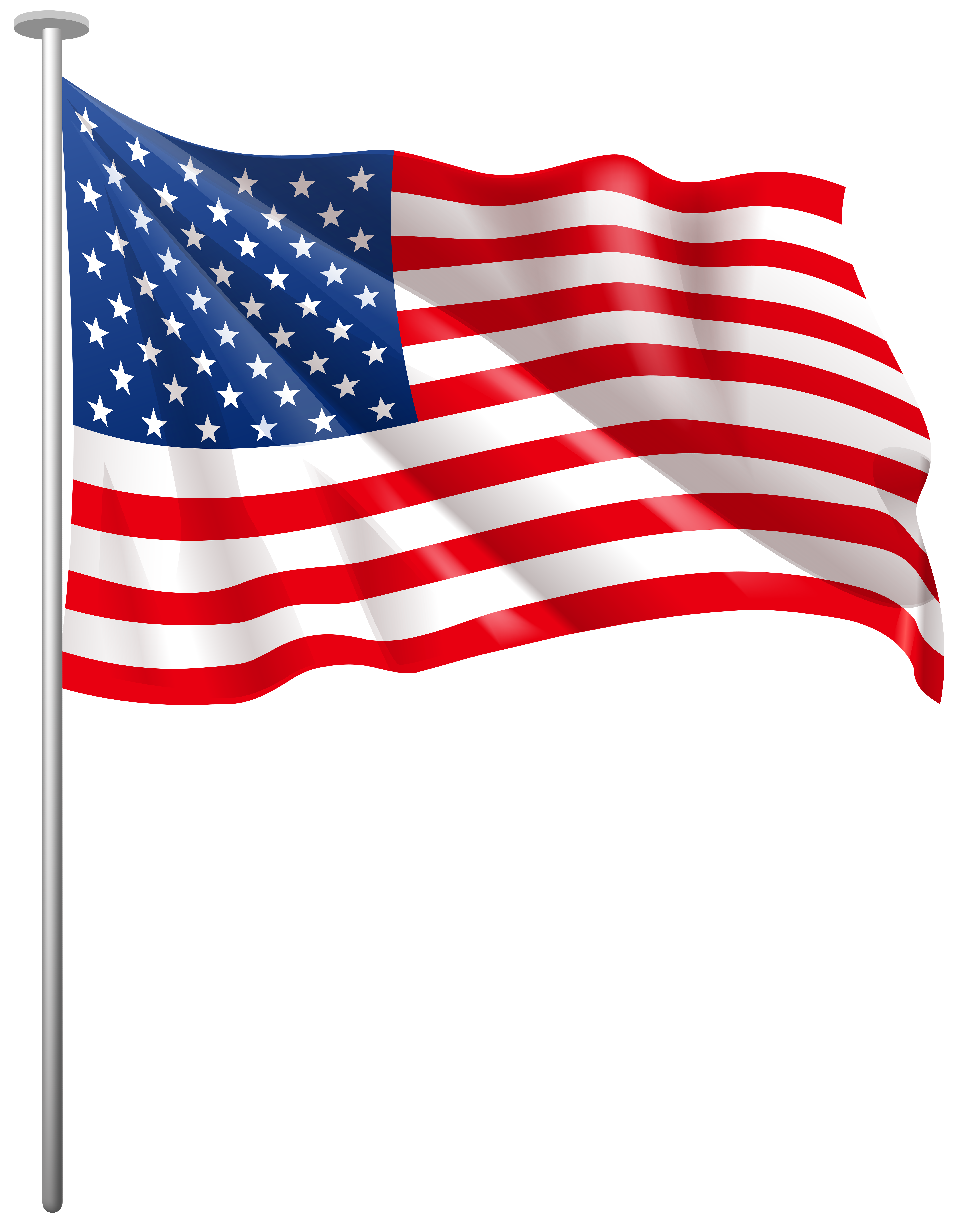 Clipart bow flag american. Usa waving png clip