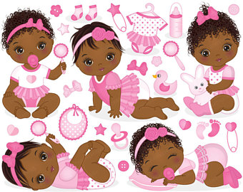 America clipart baby. Thecreativemill vector and digital