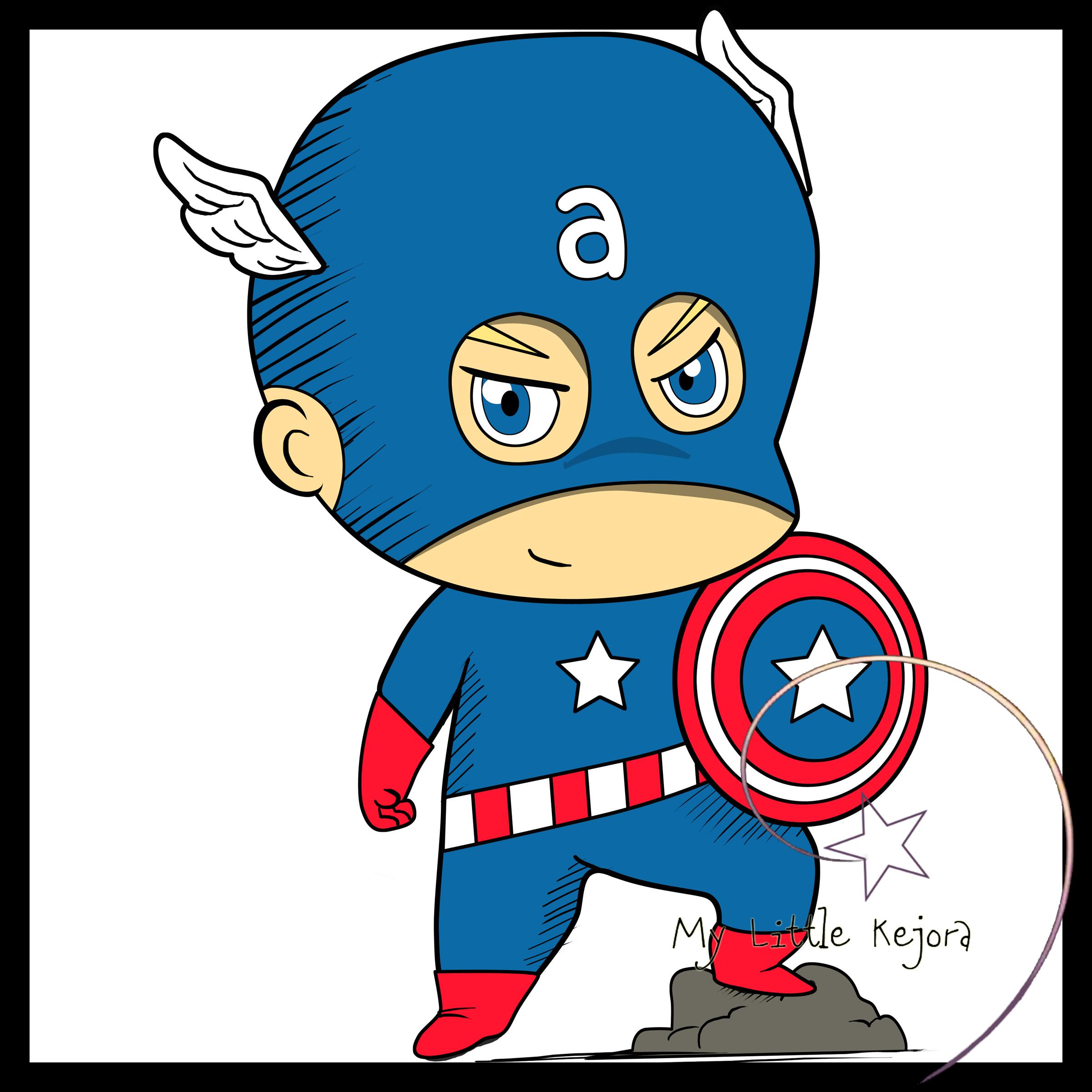 Captain clipartuse clip art. America clipart baby