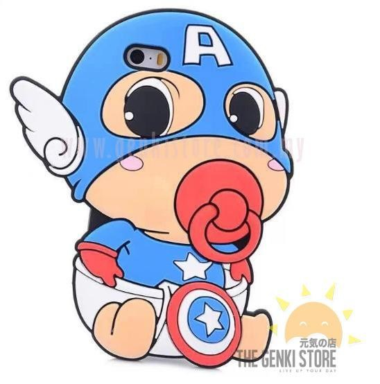 America clipart baby. Captain lovely look silicone
