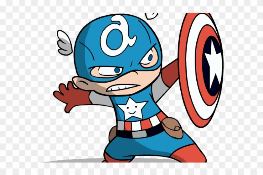 Wallpaper blink captain cartoon. America clipart baby