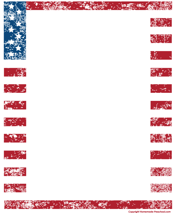 Free american ready for. Flags clipart printable