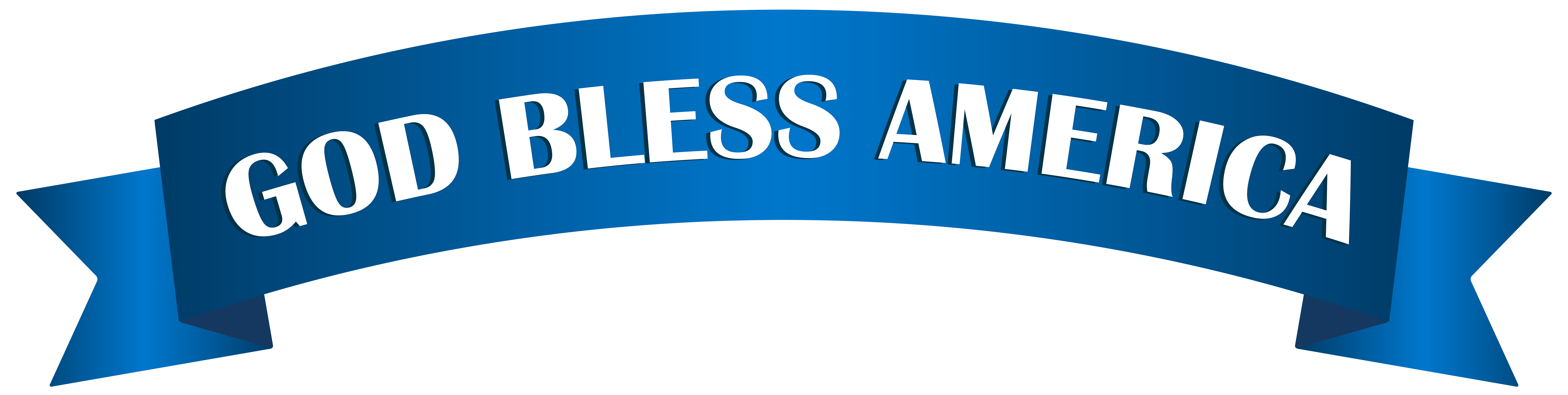 God clipart clipart us. Bless america banner png