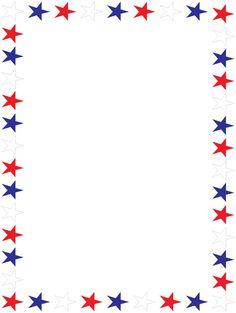 America clipart border. Printable american flag free