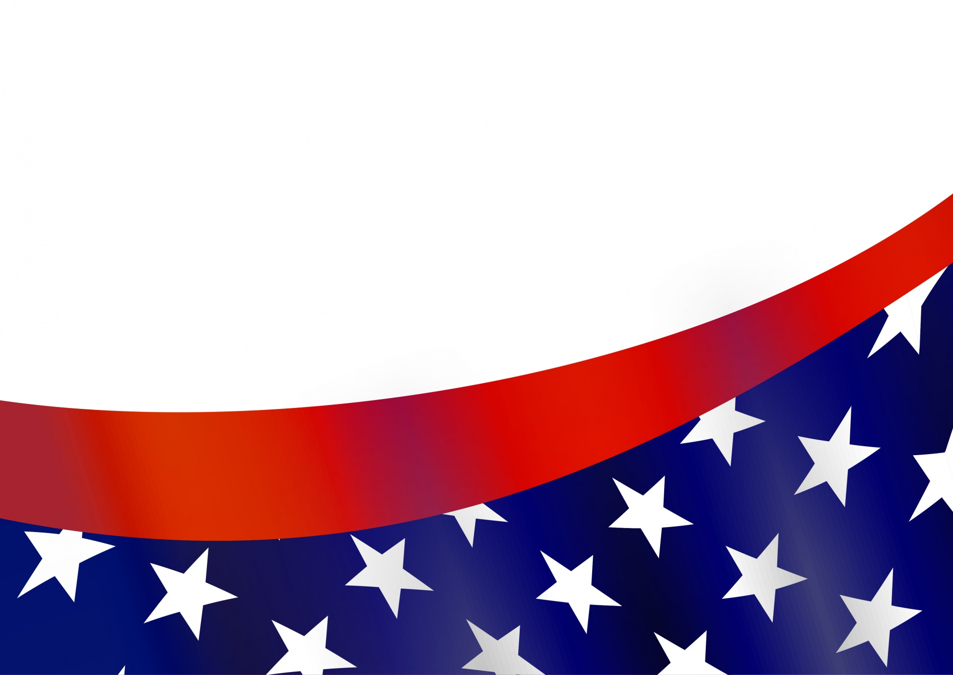 American flag free stock. America clipart border