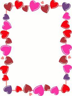 Hearts free clip art. America clipart border