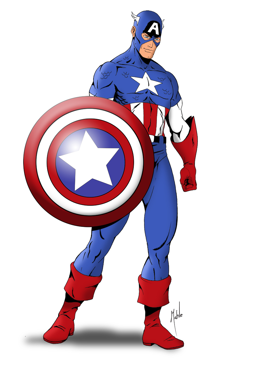 Marvelous clip art panda. Avengers clipart captain america