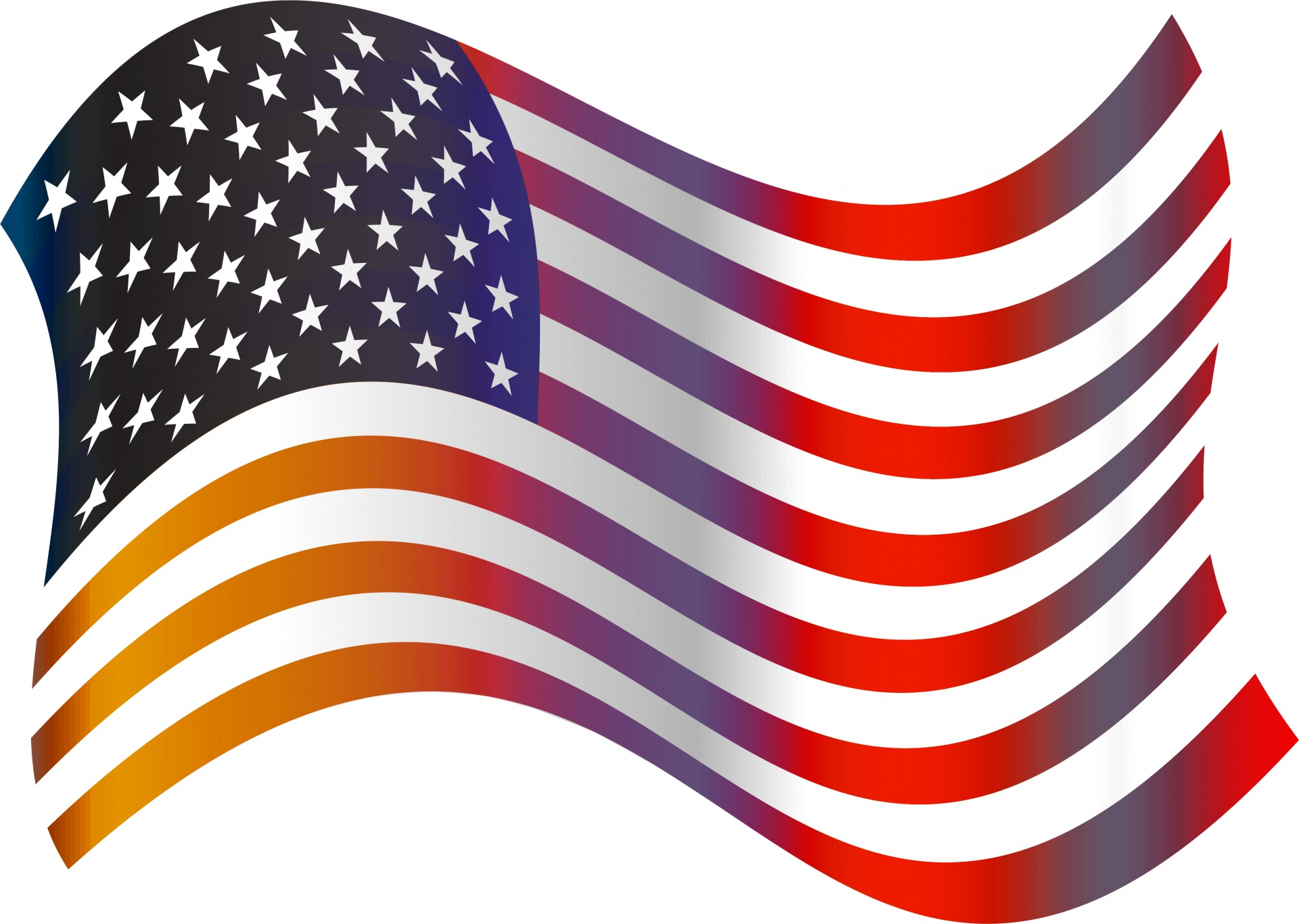American flag free stock. Usa clipart clip art