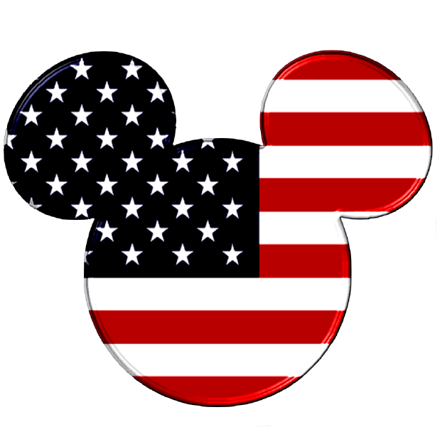 Happy th of july. America clipart head