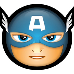 Captain icon png image. America clipart head