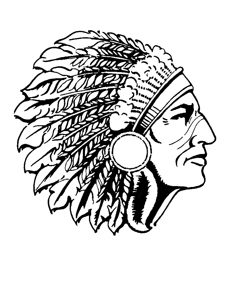 America clipart head. Free indian chief download