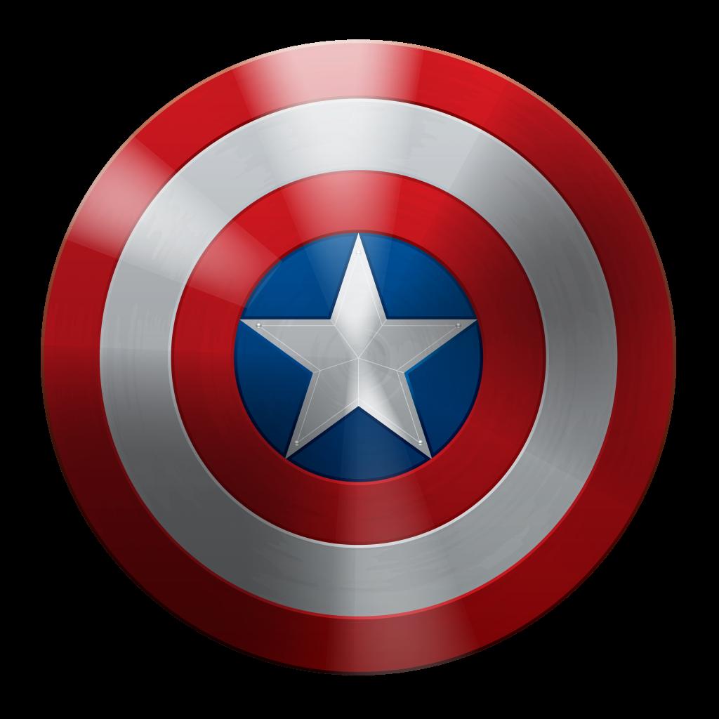 Transparent png file web. Clipart shield captain america