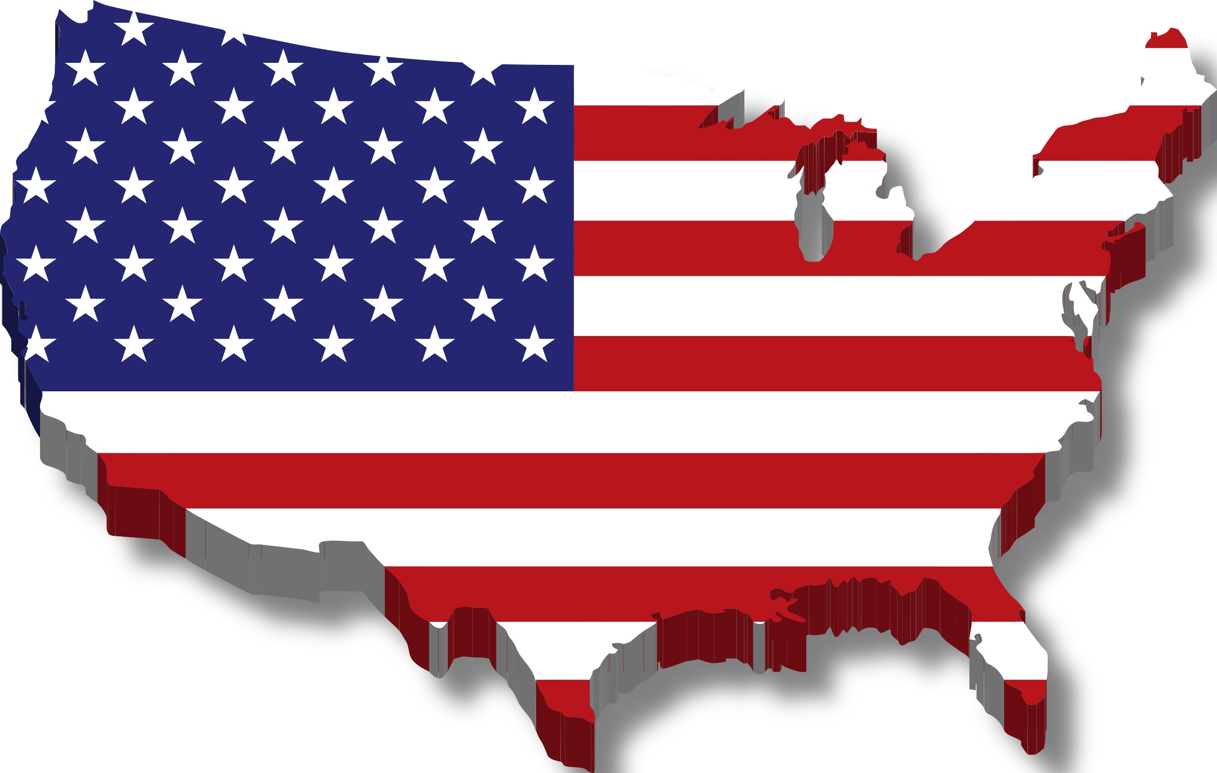 Culture clipart student. America map flag w